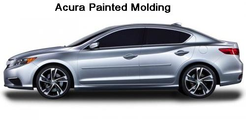 Acura Vehicles Painted Molding