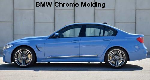 BMW Vehicle Chrome Molding