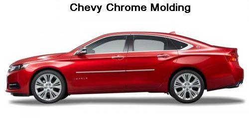 Chevy Vehicle Chrome Molding