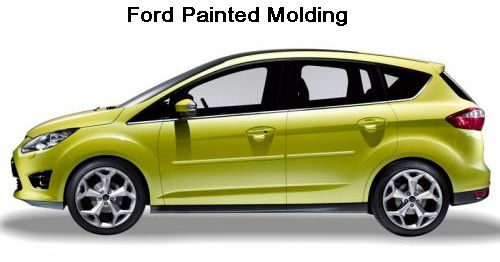 Ford Vehicles Painted Molding