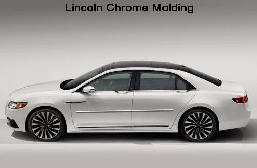 Lincoln Vehicles Chrome Molding