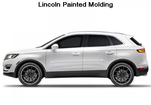 Lincoln Vehicles Painted Molding