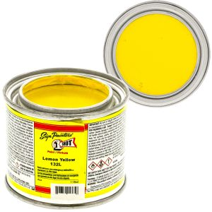 1-Shot Enamel, Lemon Yellow, 4OZ