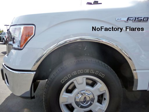 Ford F-150, 2004-2014, Fender Trim