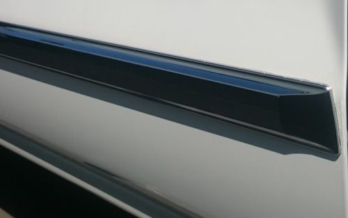 "2"" Chrome Body Side Molding, Squared Ends, 49"""