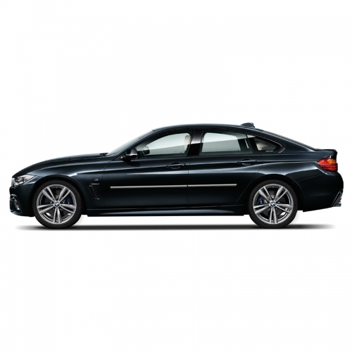 BMW 4-SERIES GRAN COUPE 4 DOOR CHROME BODY MOLDING 2014 - 2019