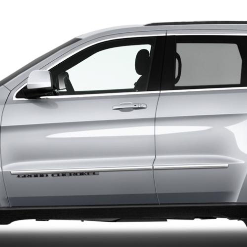 JEEP GRAND CHEROKEE CHROME BODY MOLDING 2014 - 2019