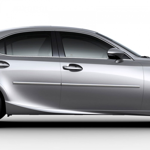 LEXUS IS 4 DOOR CHROME BODY MOLDING 2014 - 2019