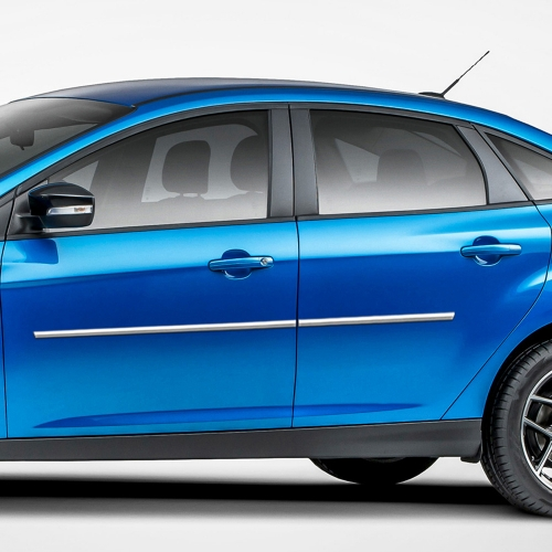 FORD FOCUS SEDAN / 5 DOOR CHROME BODY MOLDING 2008 - 2018
