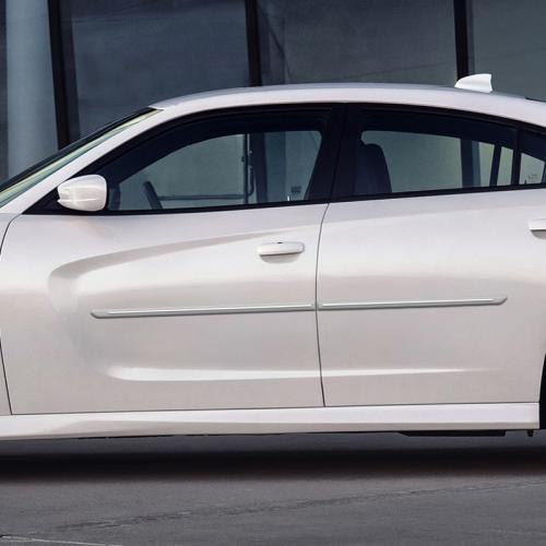 DODGE CHARGER CHROMELINE PAINTED BODY SIDE MOLDING 2015 - 2019