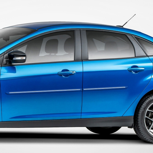 FORD FOCUS SEDAN / 5 DOOR CHROMELINE MOLDING 2008 - 2018