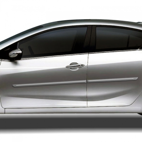 KIA FORTE CHROMELINE PAINTED BODY SIDE MOLDING 2014 - 2019