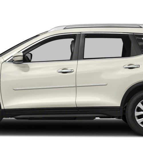 NISSAN ROGUE CHROMELINE PAINTED BODY SIDE MOLDING 2014 - 2019