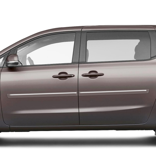 KIA SEDONA CHROMELINE PAINTED BODY SIDE MOLDING 2015 - 2019