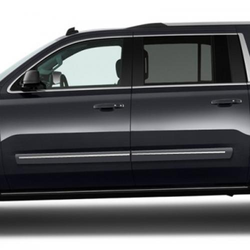 GMC YUKON XL CHROMELINE PAINTED BODY SIDE MOLDING 2015 - 2019
