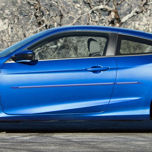 HONDA CIVIC 2 DOOR CHROMELINE MOLDING 2016 - 2019