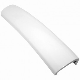 "7/8"" Track Cover Molding Frosty White 150' Roll"