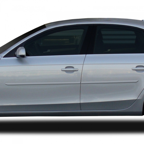 AUDI A4 PAINTED BODY SIDE MOLDING 2009 - 2019