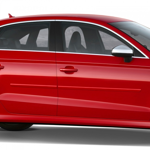 AUDI A3 SEDAN PAINTED BODY SIDE MOLDING 2011 - 2019