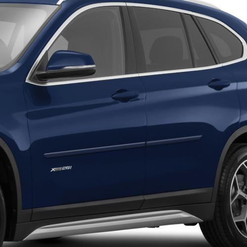 BMW X1 PAINTED BODY SIDE MOLDING 2013 - 2019