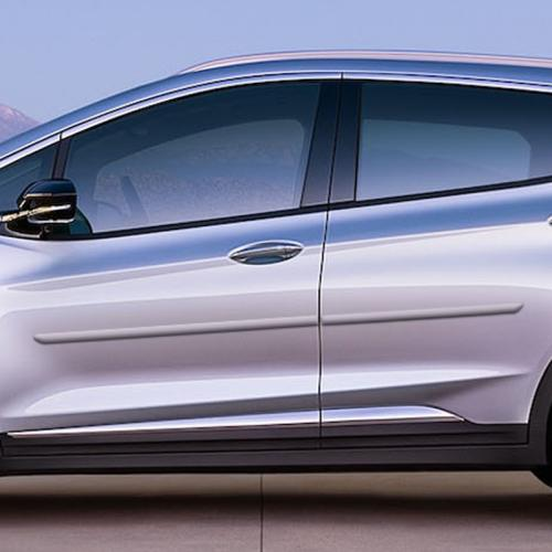 CHEVY BOLT EV PAINTED BODY SIDE MOLDING 2017 - 2020