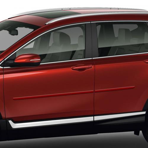 HONDA CR-V PAINTED BODY SIDE MOLDING 2017 - 2019