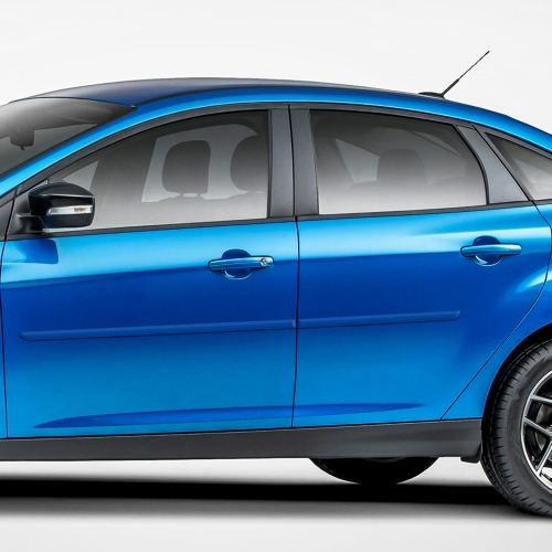FORD FOCUS SEDAN / 5 DOOR PAINTED BODY SIDE MOLDING 2008 - 2018