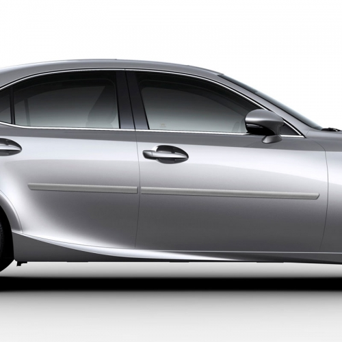 LEXUS IS 4 DOOR PAINTED BODY SIDE MOLDING 2014 - 2019