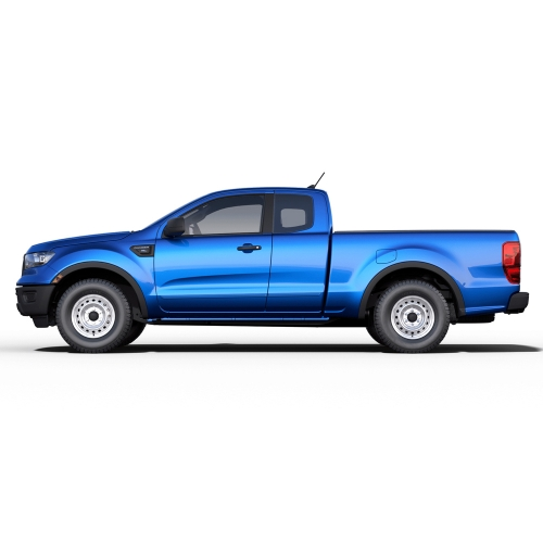 FORD RANGER SUPERCAB PAINTED BODY SIDE MOLDING 2019 - 2021