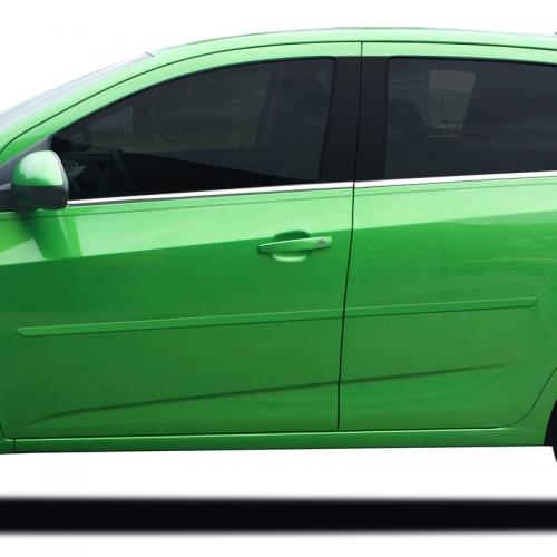 CHEVY SONIC SEDAN/5 DR HATCHBACK PAINTED MOLDING 2012-2019