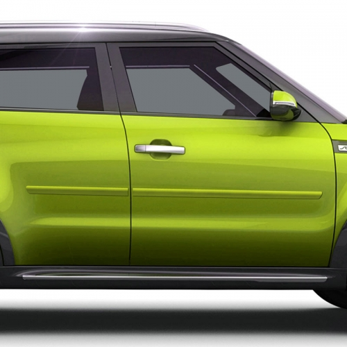 KIA SOUL PAINTED BODY SIDE MOLDING 2014 - 2020