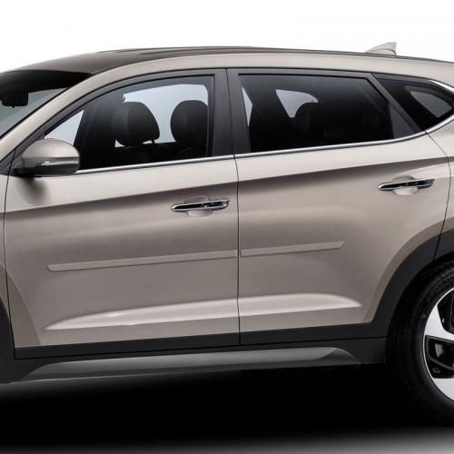 HYUNDAI TUCSON PAINTED BODY SIDE MOLDING 2016 - 2019