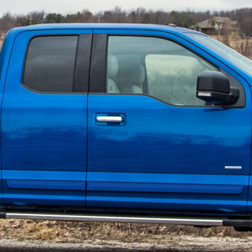 FORD F-150 SUPERCAB PAINTED BODY SIDE MOLDING 2015 - 2019