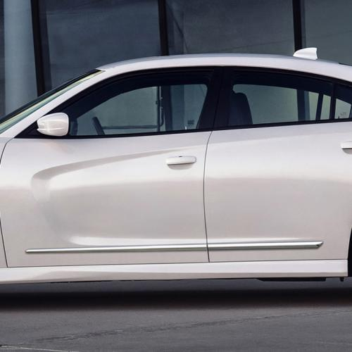 DODGE CHARGER CHROME LOWER MOLDING 2015 - 2019